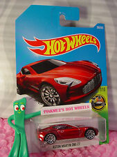 ASTON MARTIN ONE-77 #200✰met Red; 10sp✰HW EXOTICS✰2017 i Hot Wheels case J/K