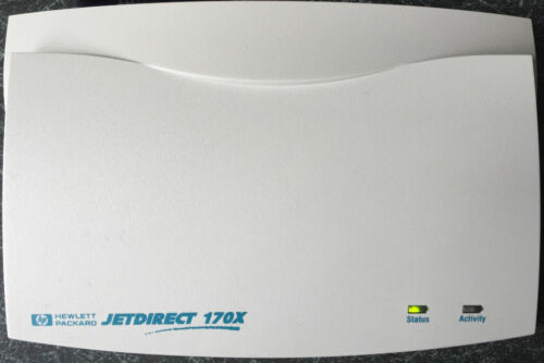 HP JetDirect 170X J3258B External Ethernet Print Server