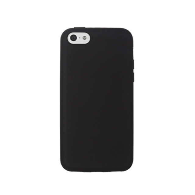 designer fashion 8a93c f7062 Carphone Warehouse Silicone Back Cover Case for Apple iPhone 5c Black