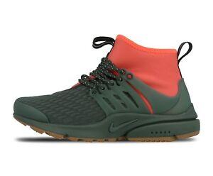 Détails sur Nike Air Max Mid Utility Premium Presto aa0674 300 uk4.5eu38us7 Sample Shoe afficher le titre d'origine