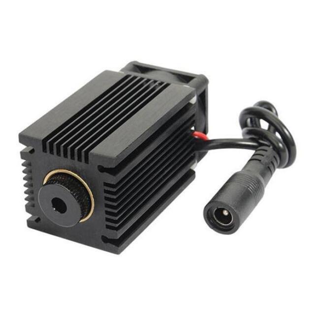 445nm 2.5W 2500mW Blue Laser Module With Heatsink For DIY Laser Cutter Tool