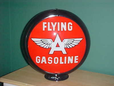 FLYING A  SUPER EXTRA GASOLINE GAS PUMP GLOBE SIGN  F