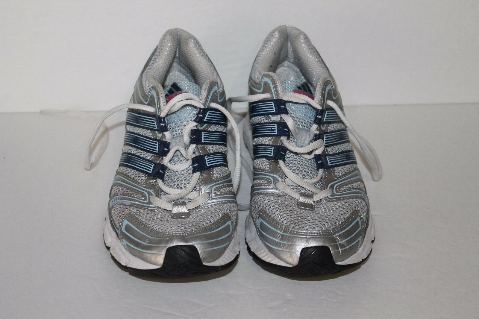 cheap for discount a37c4 b5687 ... Adidas Running Running Running Shoes,  G24604, Silver Blues, Womens US  Size ...