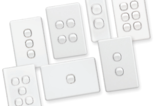 Clipsal-Classic-Range-C2000-Light-Switches-amp-Architraves-amp-Power-points-White