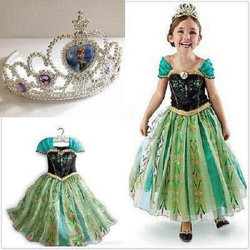 Hot Queen Kid/'s Girl/'s Cosplay Cosplay Costume Princess Party Fancy Dress