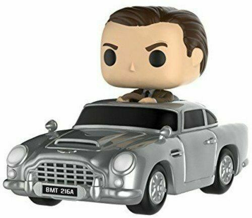 007 James Bond Aston Martin Db5 Sean Connery Pop Funko Rides Vinyl Figure 44 For Sale Online Ebay