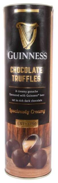 Guinness Creamy Chocolate Truffles Tube, 320G