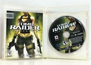 Tomb Raider: Underworld (Sony PlayStation 3, 2008) PS3  Complete