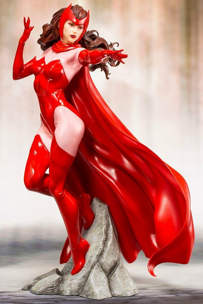 KOTOBUKIYA ARTFX+ MARVEL UNIVERSE Scarlet Witch 1 10 scale Japan version