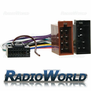 Kenwood-16-PIN-Car-Stereo-Radio-ISO-Wiring-Harness-Connector-Adaptor-Cable-Lead