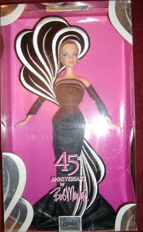 Bob Mackie 45th aniversario Diseñador Muñeca Barbie