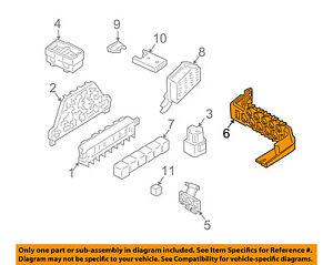 AUDI OEM 98-01 A6 Quattro 2.8L-V6 Fuse Relay-Relay Plate ...