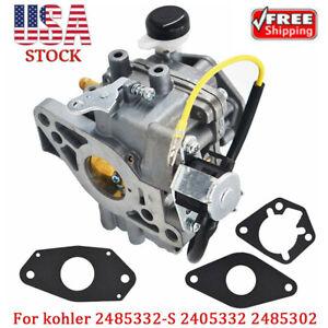 Details about Replacement For Kohler Engines Kit Carburetor w Gaskets 24  853 32-S 2485302