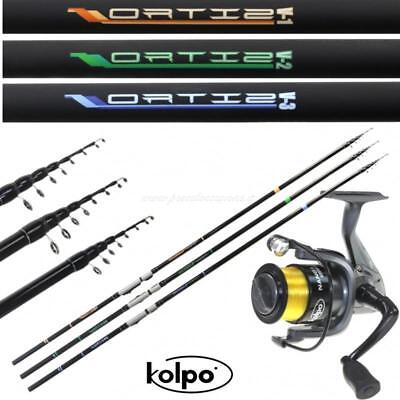 Rods Sporting Goods Efficient Kit Pesca Trota Lago Pesca Recupero Canna Mulinello Filo Kolpo Fdt
