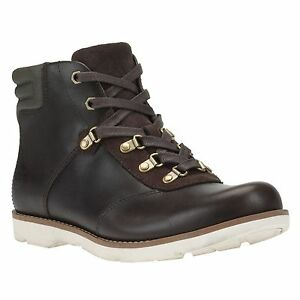 Timberland Leather Boots Black UK 7.5 25cm Women's 75W 27066