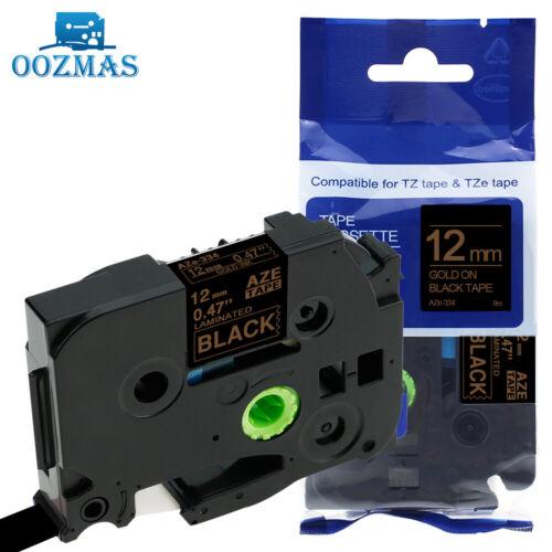 Schriftband-Kassette für Brother P-Touch TZE-231 TZ TZE Schwarz auf Weiß 12mm 8m