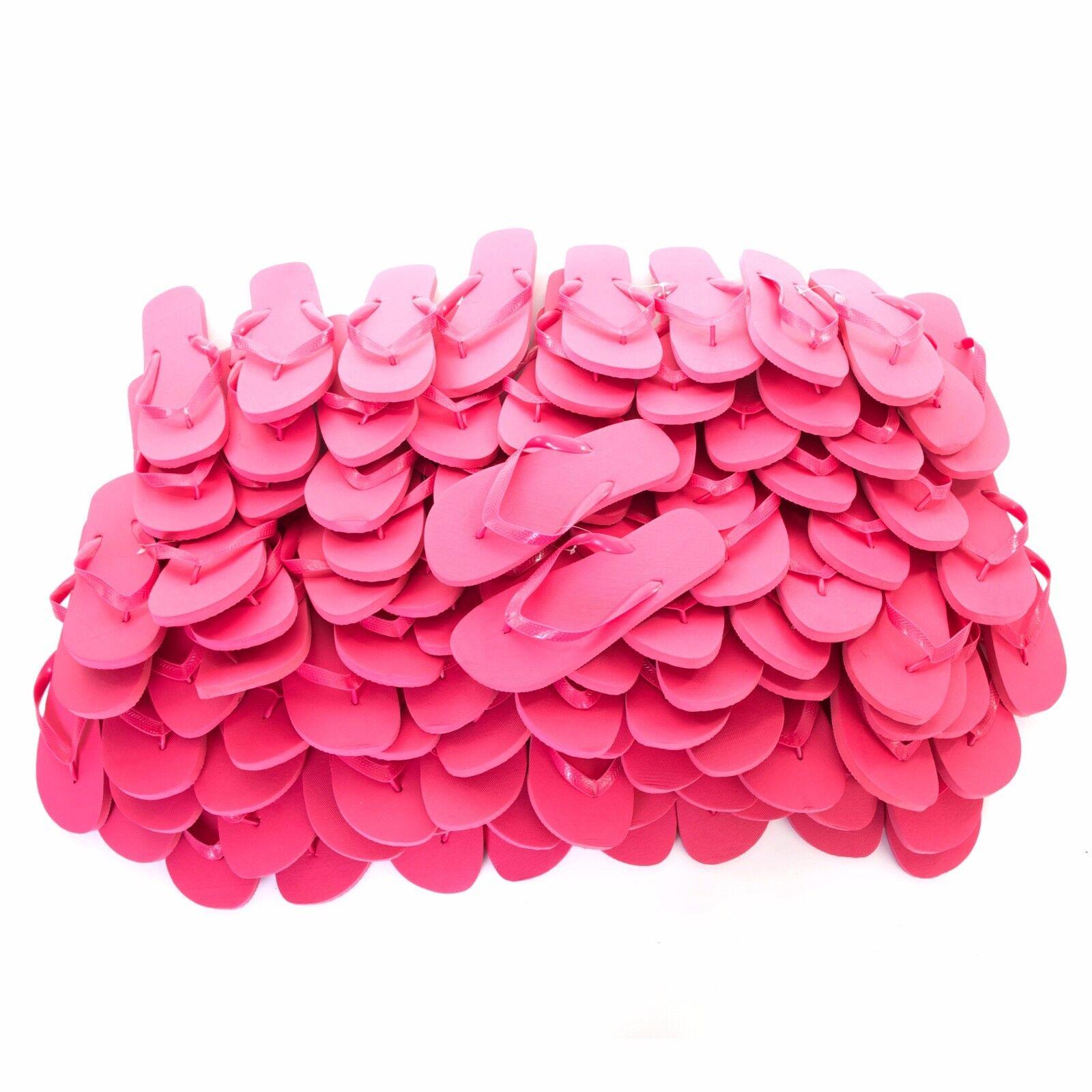 Zohula color rosa Flip Flop-comprar a granel 10 - 100 pares de sólo .35 por Par + Lote