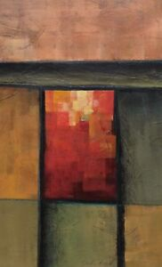 Details About Original By John Boyd Fine Art Nature Red 1 Of A Kind Abstract Famous Artwork