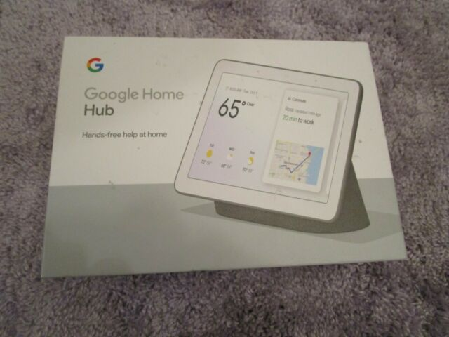 Google Home Hub with Built-In Google Assistant, Charcoal (GA00515-US)