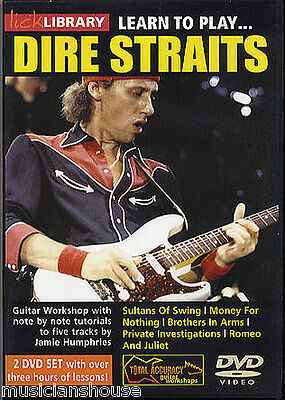 Lick Library Learn To Play Dire Straits Rock Sultans Of Swing Lesson Guitar Dvd Ebay