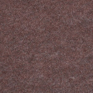 Brown Cheap Cord Carpet Budget Thin Floor Covering