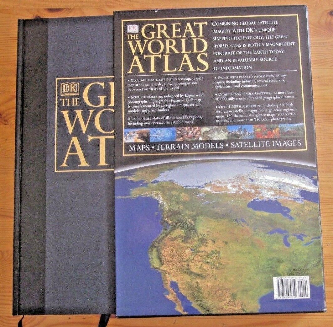 The great world atlas by dorling kindersley publishing staff 2002 the great world atlas by dorling kindersley publishing staff 2002 hardcover ebay gumiabroncs Choice Image
