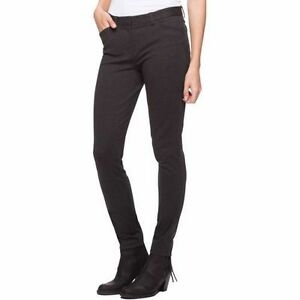 NEW WOMEN/'S ANDREW MARC PONTE STRETCH PANT SEMI FITTED TAPERED LEG grey size 4