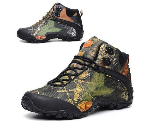 7678 Men Climbing Training  Athletic shoes Outdoor Running Hiking High-top Boots  welcome to choose
