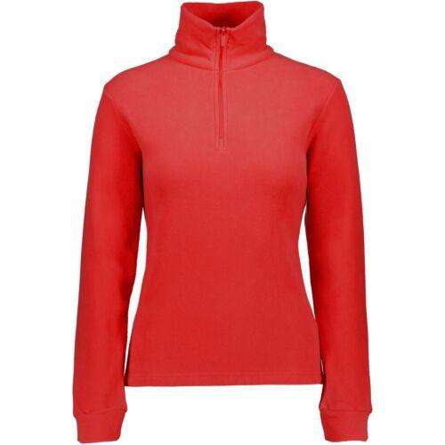 CMP Skishirt 3G27836 Damen Sweat Funktionsshirt Skirolli rot Fleecepullover