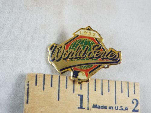 MAJOR LEAGUE BASEBALL PIN 1992 WORLD SERIES
