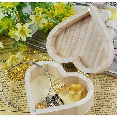 Capace Boîtes De Rangement En Forme De Coeur - Boîte En Bois - Boîte à Bijoux