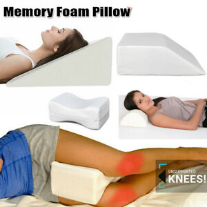 Tingtin Memory Foam Knee Pillow Cover,Orthopedic Knee Pillow Cover Comfortable Knee Support Sciatic Pain Relief Pillow Cover For Pregnancy