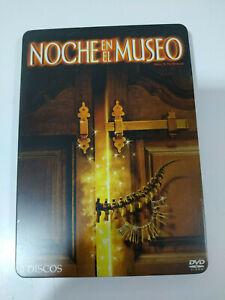 NOCHE-EN-EL-MUSEO-2-DVD-STEELBOOK-BEN-STILLER-Espanol-Ingles