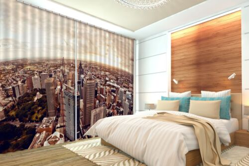 3D City Sky 27 Blockout Photo Curtain Printing Curtains Drapes Fabric Window AU