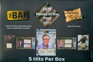 2019-Super-Break-The-Bar-Pieces-of-The-Past-Series-1-Factory-Sealed-Hobby-Box