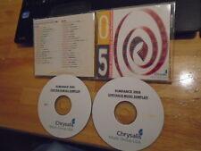 RARE PROMO Sundance Film Fest '05 2x CD Keane BRMC Black Keys Morrissey RARITIES