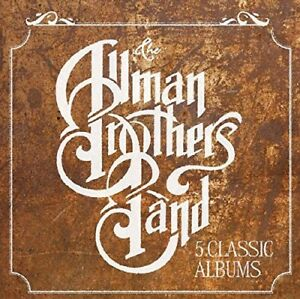 THE-ALLMAN-BROTHERS-BAND-5-CLASSIC-ALBUMS-5-CD-NEUF