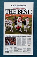 "Boston Red Sox Refrigerator Magnet - ""Boston Globe"" 2007 World Series Champions"