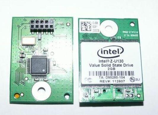 INTEL Z-U130 Internal USB Header SSD Hard Drive 1GB NAND FLASH MEMORY