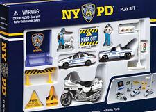NYPD New York Police Department giocattoli set bambini 13 PEZZI CUCINA rt8620