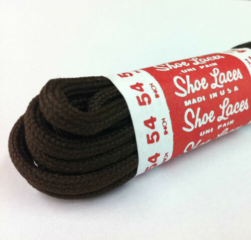 """Athletic Round Shoe Laces Shoelaces Sport Sneakers Boots Strings 3//16/"""" 2 Pairs"""