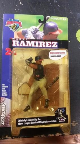 2000 MCFARLANE BIG LEAGUE CHALLENGE MANNY RAMIREZ SERIES ONE FIGURE