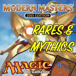 Magic-the-Gathering-MTG-Modern-Masters-2015-MM2-Mythic-Rares-amp-Rare-Cards-NM-M
