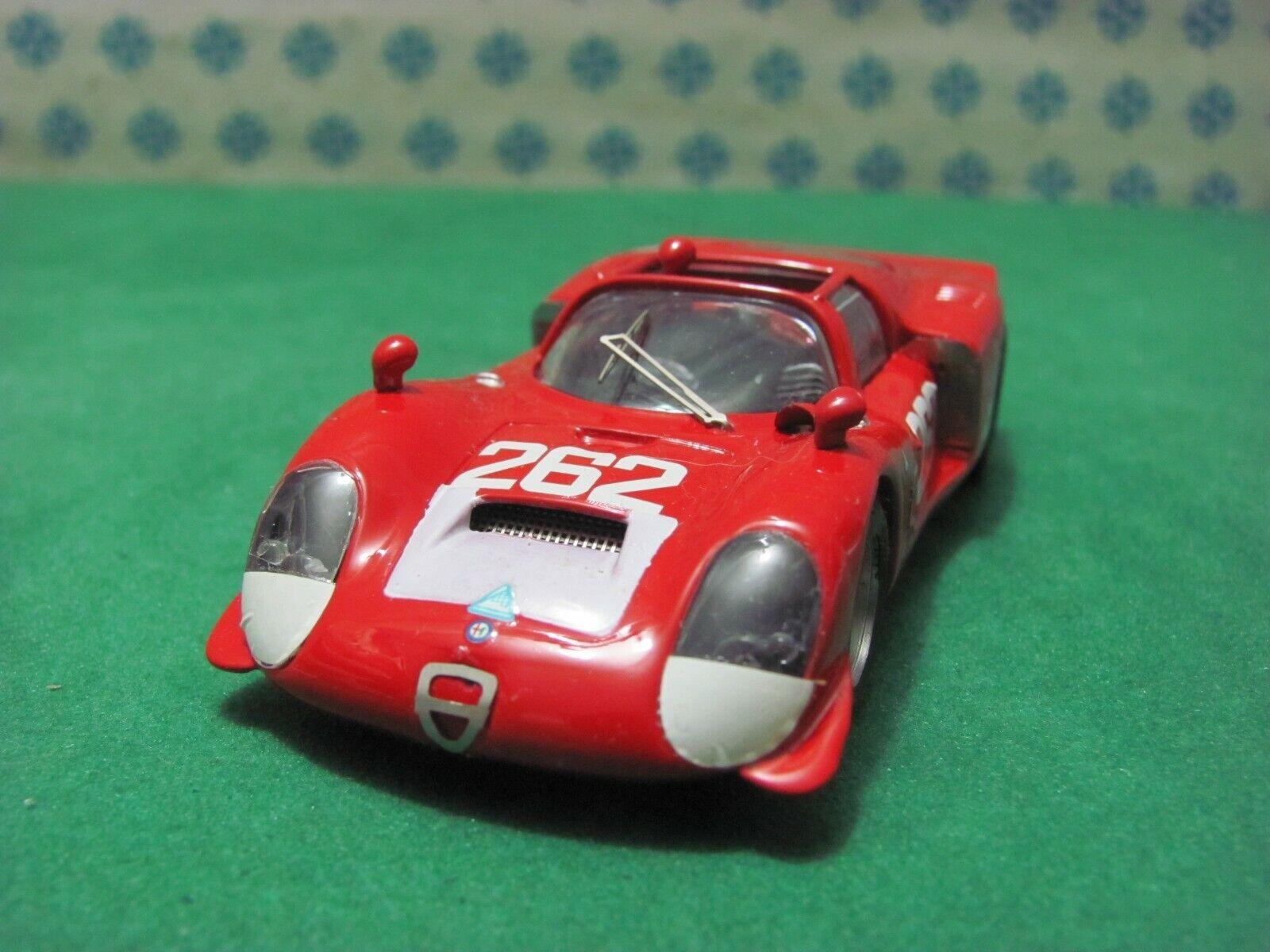 Alfa Romeo 33 2 Spyder 2000cc. Daytona    Targa Florio 1969   - 1 43 Best 9143  authentique