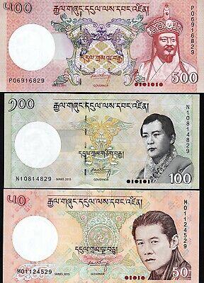 Bhutan 100 Ngultrum p-32c 2015 UNC Banknote