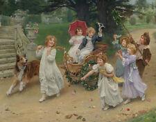 Elsley John Arthur The Happy Pair Canvas 16 x 20  #3052