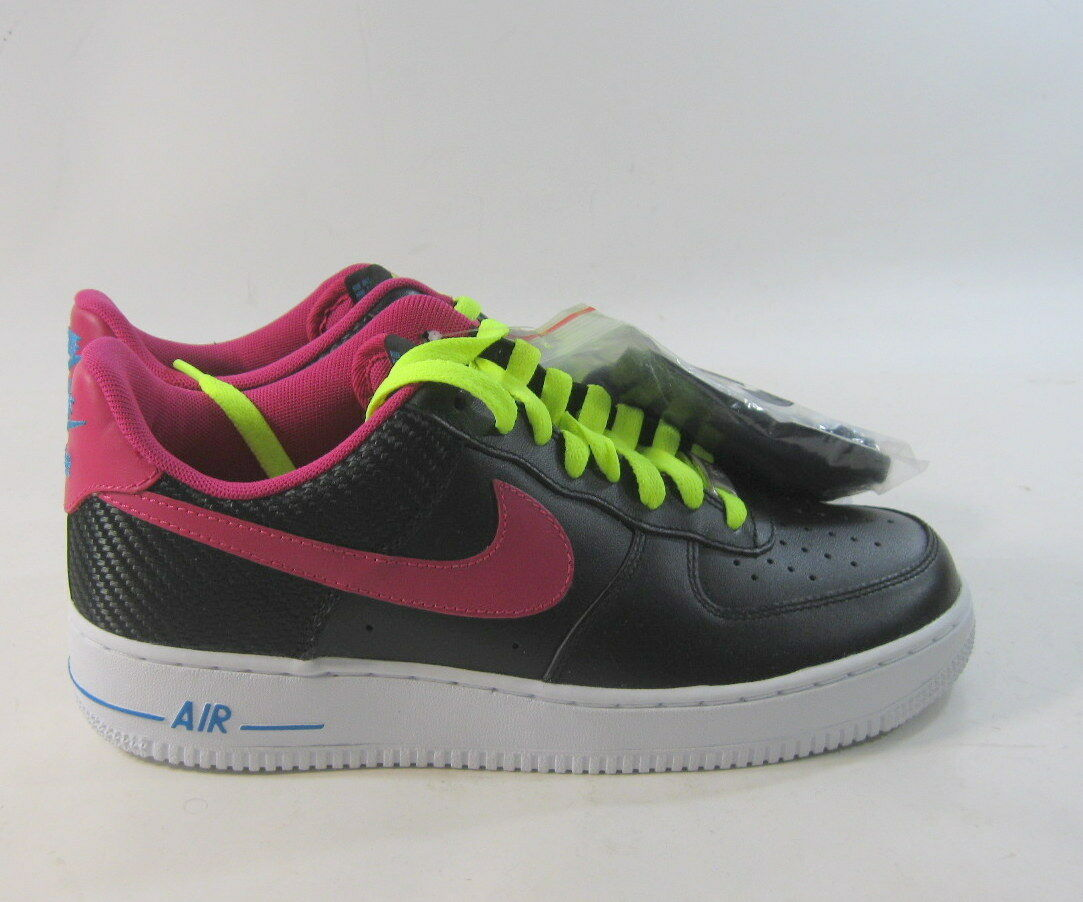 Nike Force 1 para hombre 015 Negro Air/Fireberry 488298 015 hombre 072f0f