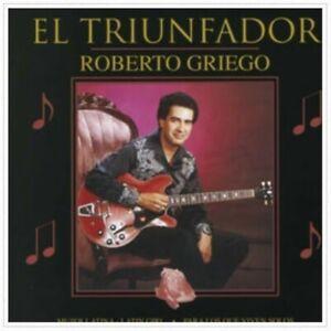 Brand New Roberto Griego El Triunfador Shrink Wrapped CD Authorized Seller