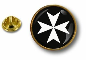 pins-pin-badge-pin-039-s-metal-drapeau-templier-knights-templar-croix-de-malte-r1