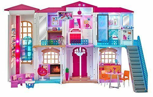 Barbie Doll Dpx21 Hello Dreamhouse With Wifi Voice Activated Ebay